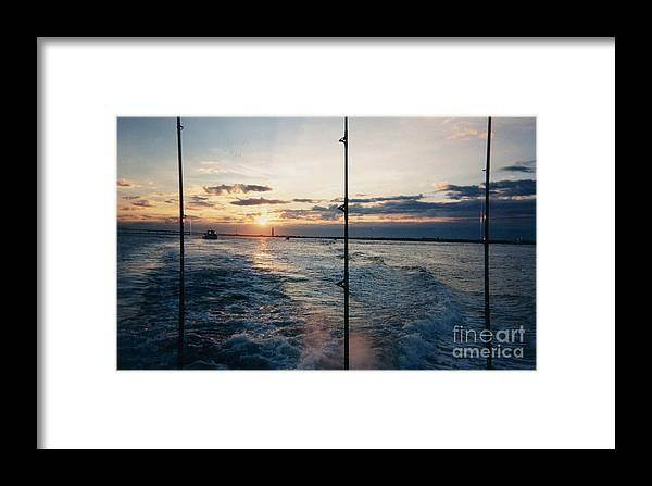 Morning Fishing Framed Print featuring the photograph Morning Fishing by John Telfer