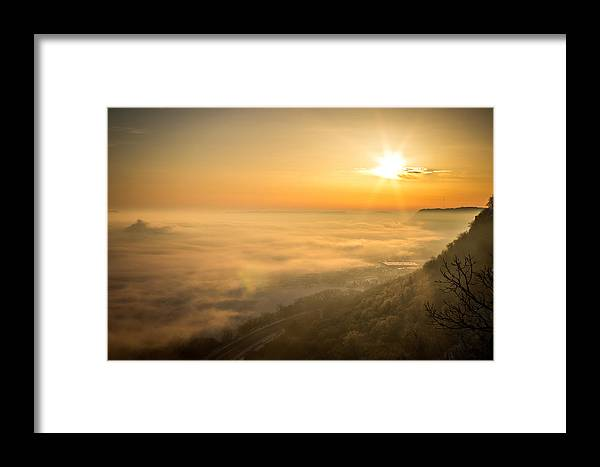 Sunrise Framed Print featuring the photograph Morning Glory by Travis Volkman