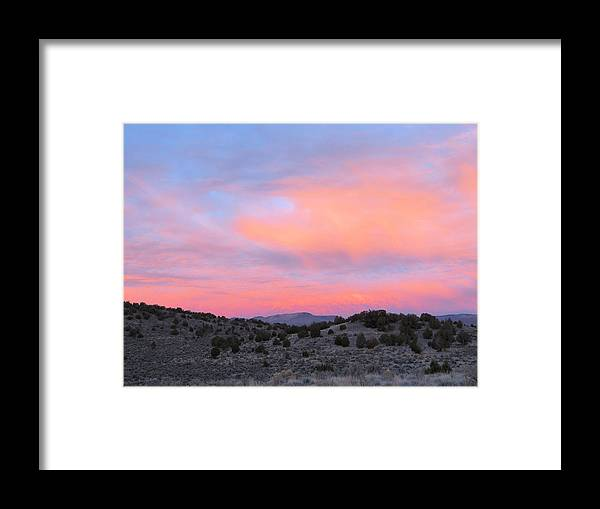 Sunrise Framed Print featuring the photograph Morning Paints by Darcy Tate
