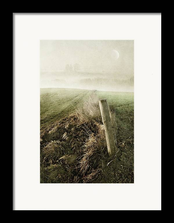 Silence Framed Print featuring the photograph Morning Watch by manhART