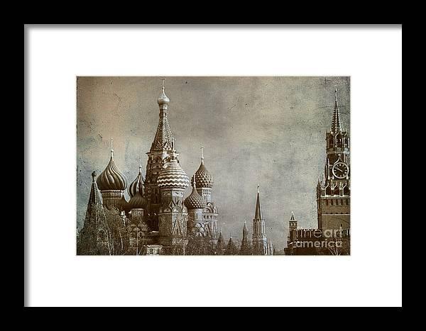 Outdoors Framed Print featuring the photograph Moscow by Bernard Jaubert