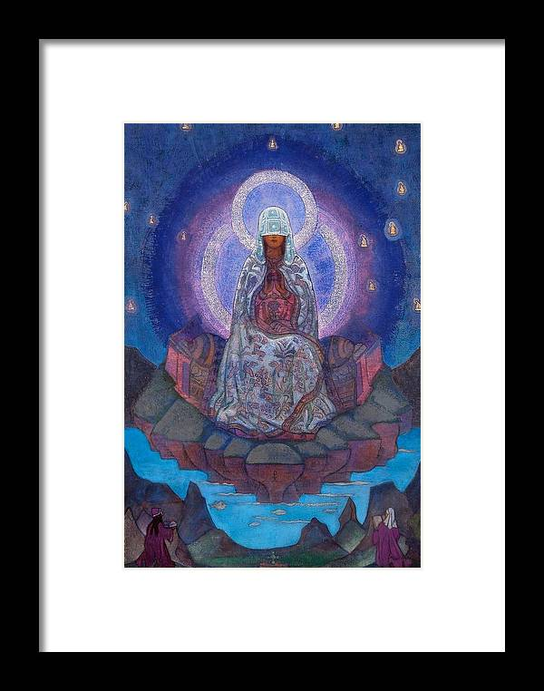 1930's Framed Print featuring the painting Mother Of The World by Nicholas Roerich
