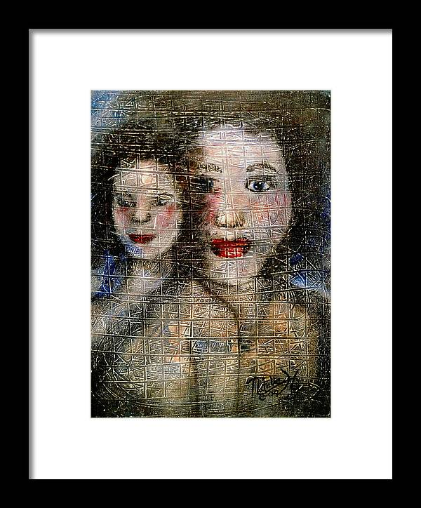 Mother Framed Print featuring the painting Motherly Love by Natalie Holland