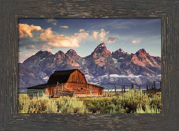Moulton Morning on Mormon Row by Kirk Strickland