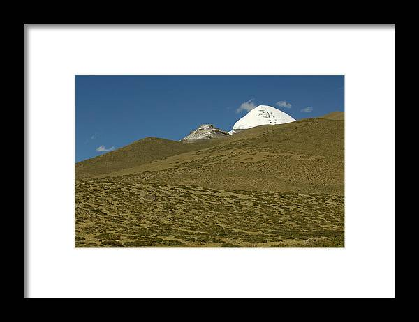 Chinese Culture Framed Print featuring the photograph Mount Kailash by Tanukiphoto