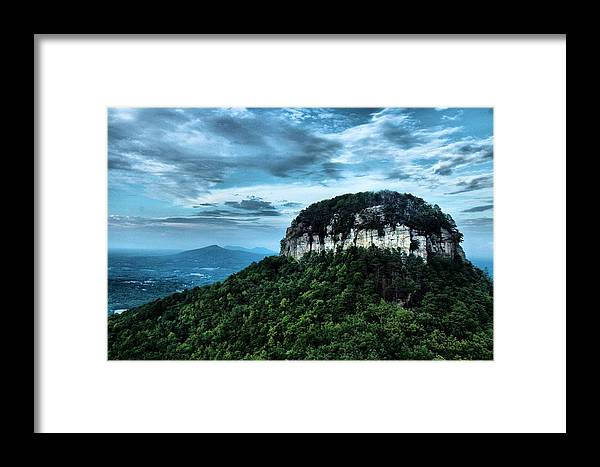 Landscape Framed Print featuring the photograph Mount Pilot by Anita Bullin