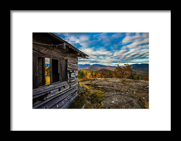 Mount Framed Print featuring the photograph Mount Tyrol by Jeff Ortakales