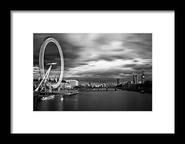 London Framed Print featuring the photograph Movement by Arthit Somsakul