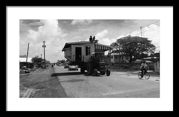 Guyana Framed Print featuring the photograph Moving Day by Andrew Ramdat