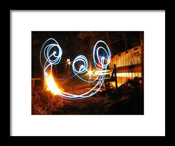 Framed Print featuring the photograph Mr. Smiley by Matthew Barton