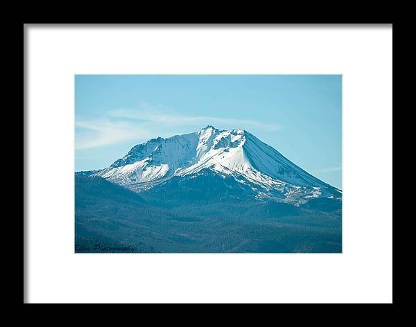 Mt Lassen Framed Print featuring the photograph Mt Lassen by Leanne Riley