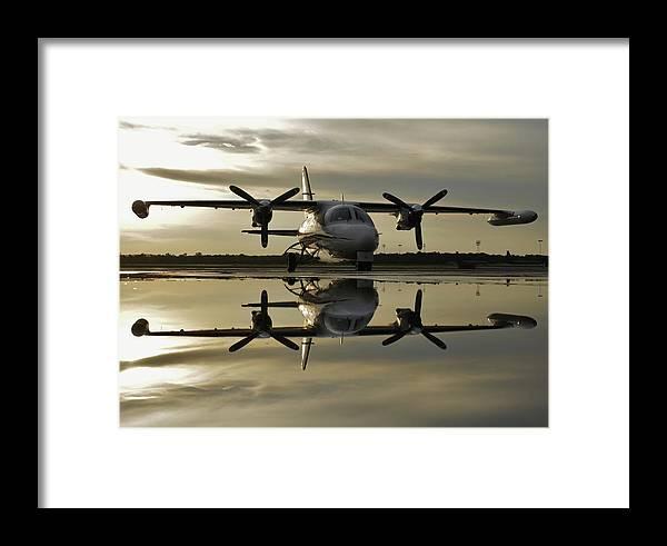 Mu-2 Framed Print featuring the photograph Mu-2 After The Rain by Scott Stephens