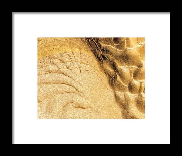 Mud Framed Print featuring the photograph Mud Flare by Deborah Hughes