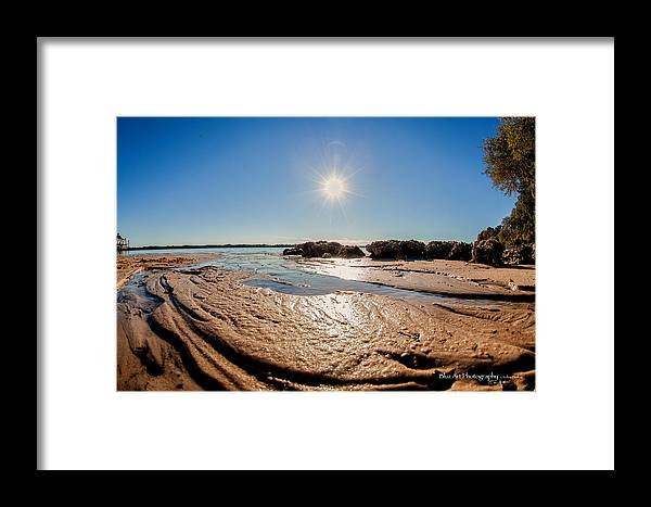 Bay Framed Print featuring the photograph Mudslide by Volker blu Firnkes