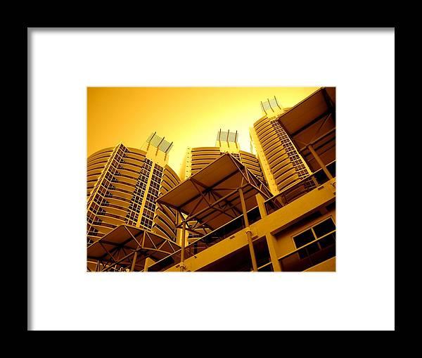 Murano Building Miami Print Framed Print featuring the photograph Murano Grande, Miami by Monique's Fine Art