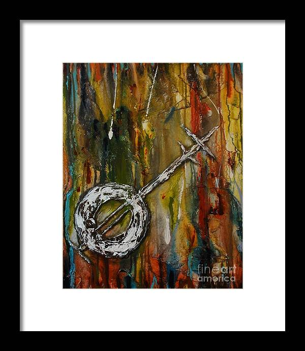 Music Framed Print featuring the painting Musicality by Vicki Pirtle