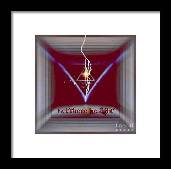 Infinity Framed Print featuring the digital art Mystic by Meiers Daniel
