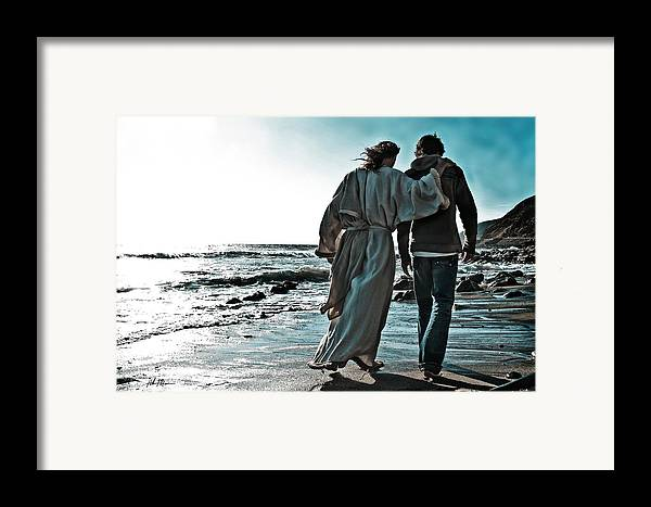 My Friend Framed Print featuring the photograph My Friend by Helen Thomas Robson