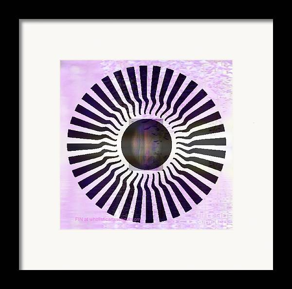 Hurting Head Framed Print featuring the digital art My Head Spins by PainterArtist FIN