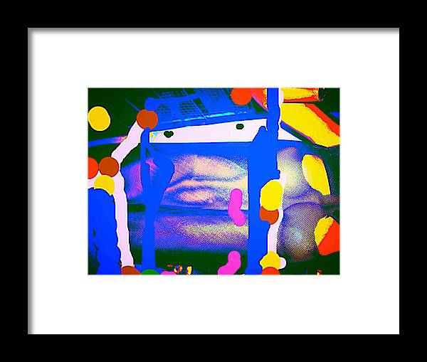 Canvas.prints Digital Framed Print featuring the photograph My Life by HollyWood Creation By linda zanini