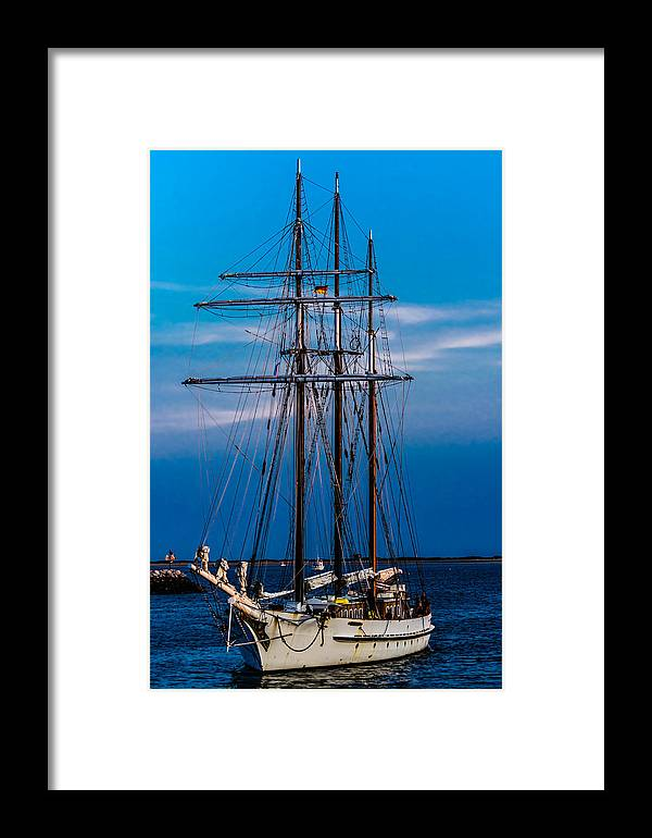 Alan Marlowe Framed Print featuring the photograph Mystic by Alan Marlowe