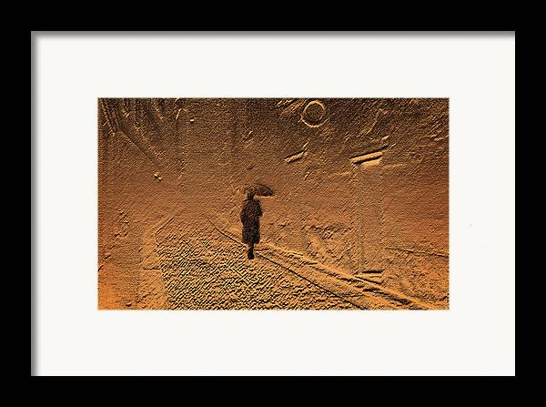 Mystical Framed Print featuring the photograph Mystical Journey Of The Shadow Of Your Soul In Extraneous World by Jenny Rainbow