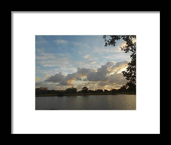 Sunrise Framed Print featuring the photograph Namaste by Sheila Silverstein