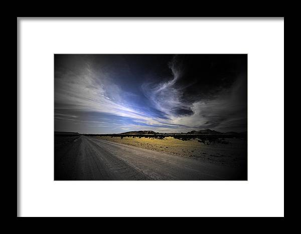 Landscape Framed Print featuring the photograph Namibia Landscape by Riana Van Staden