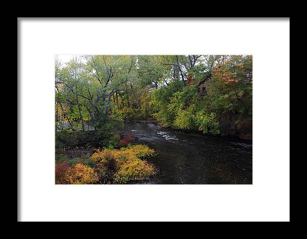 Landscape Framed Print featuring the photograph Narrows by Ed Pearson