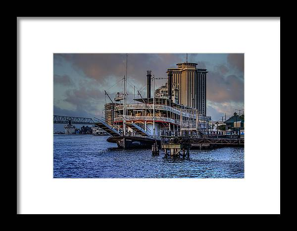 French Framed Print featuring the photograph Natches Riverboat by Capt Gerry Hare