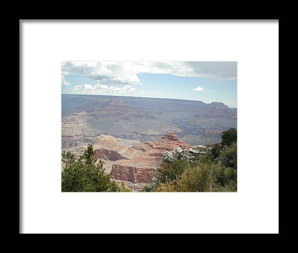 Canyon Framed Print featuring the photograph Natural Formation by Minnie Davis
