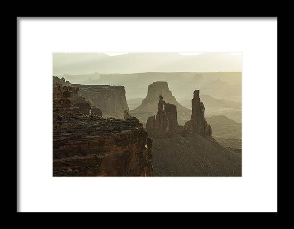 Canyon Landscape Framed Print featuring the photograph Natural Wonder by Bill Sherrell