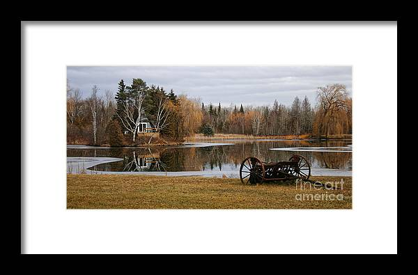 Landscape Framed Print featuring the photograph Naturally by Levin Rodriguez