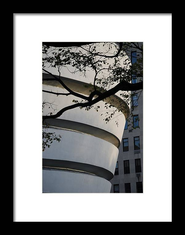 Scenic Framed Print featuring the photograph Nature And Architecture by Rob Hans