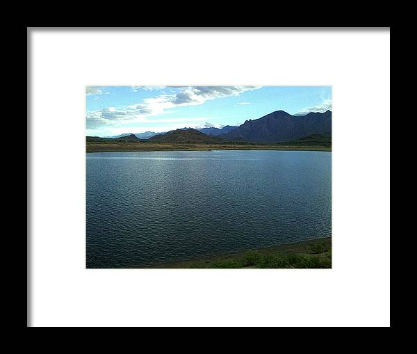 Portrait Framed Print featuring the photograph Nature by Vasanth Williams