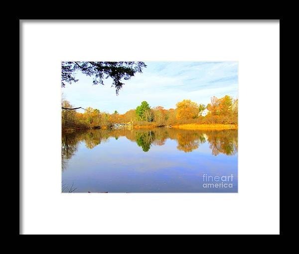 Royal River Framed Print featuring the photograph Nature's Finest by Elizabeth Dow