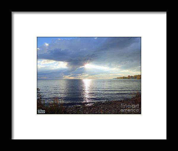 Lake Framed Print featuring the photograph Nature's Voice Three by Rennae Christman