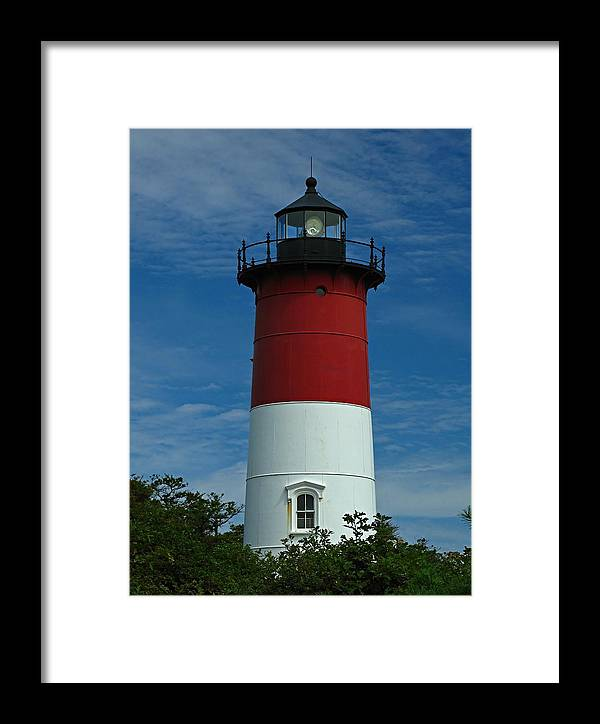 Lighthouse Framed Print featuring the photograph Nauset Beach Lighthouse by Juergen Roth