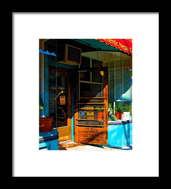 Nepal Framed Print featuring the photograph Nepali by Gary Everson