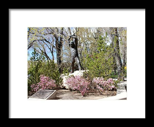 Nevada Miners Framed Print featuring the photograph Nevada Miners Adolph Sutro by Eric Martin