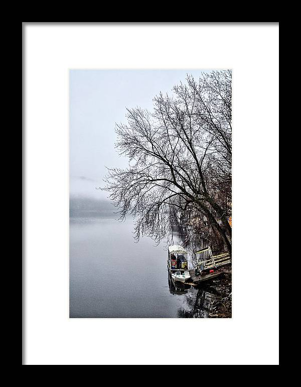 New Framed Print featuring the photograph New Hope Ferry by Bill Cannon
