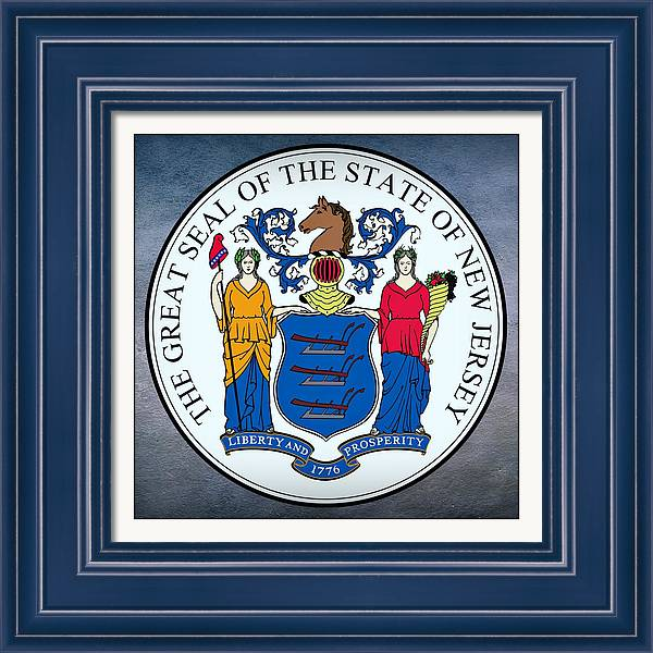 New Jersey State Seal by Movie Poster Prints
