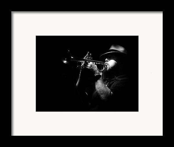 Jazz Framed Print featuring the photograph New Orleans Jazz by Brenda Bryant
