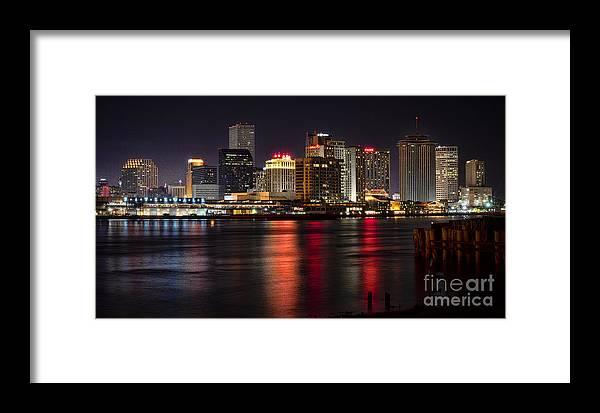Louisiana Framed Print featuring the photograph New Orleans Skyline by Richard Mason