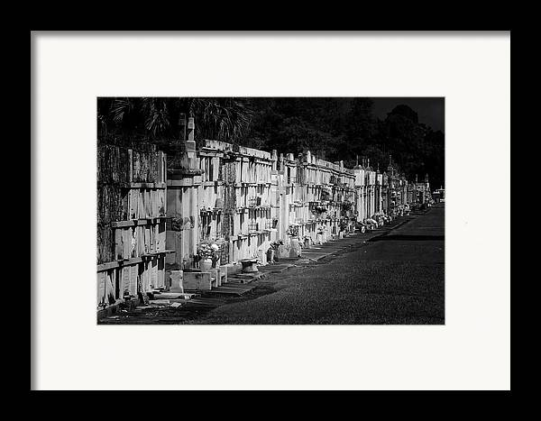 Saint Framed Print featuring the photograph New Orleans St Louis Cemetery No 3 by Christine Till