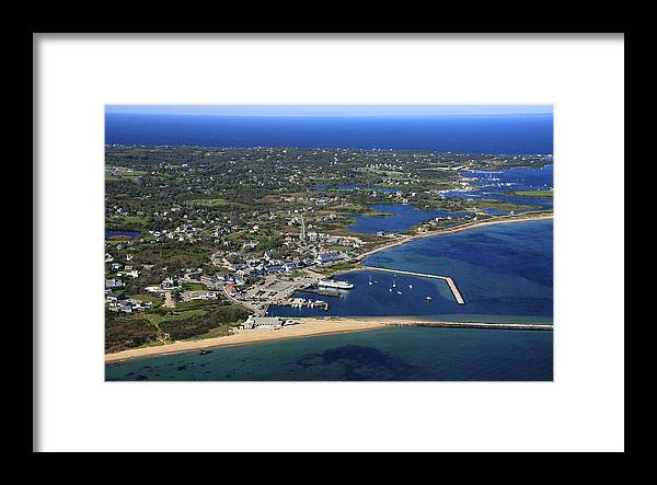America Framed Print featuring the photograph New Shoreham, Block Island by Dave Cleaveland