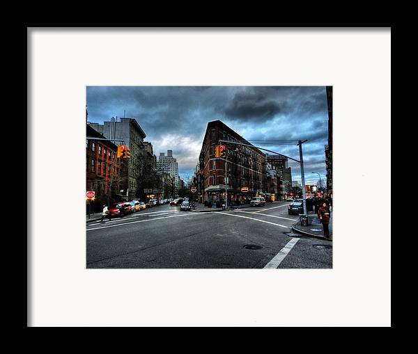 New York City Framed Print featuring the photograph New York City - Greenwich Village 012 by Lance Vaughn