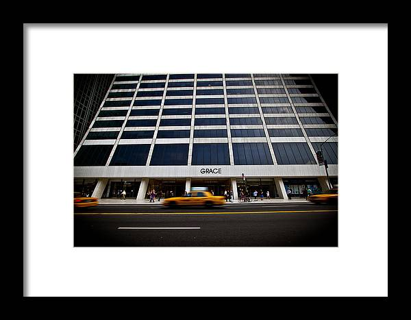 New York Framed Print featuring the photograph New York Grace Building by Amador Esquiu Marques