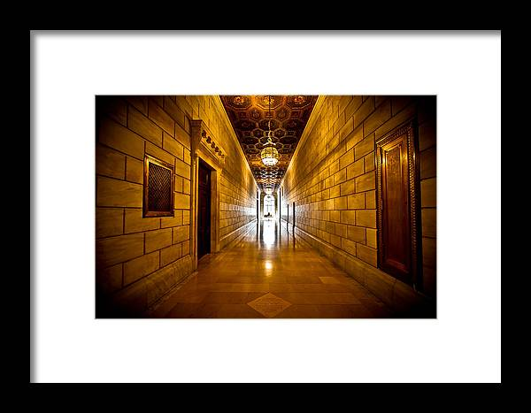 New York Framed Print featuring the photograph New York Public Library II by Amador Esquiu Marques