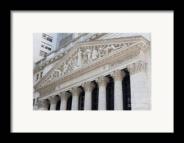 Clarence Holmes Framed Print featuring the photograph New York Stock Exchange I by Clarence Holmes